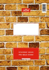 Stavební deník pro malé stavby, 3 x 25+8 L, samopropisovací