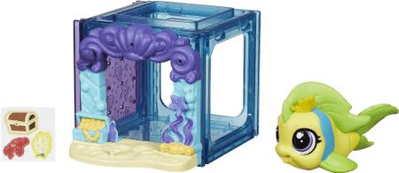 Littlest Pet Shop Zvieratko s mini domčekom Flippa Splashle