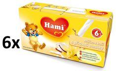 Hami Mlíčko s kaší vanilkové - 6 x (2x250ml)