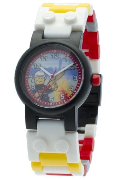 LEGO® Dětské hodinky City fireman