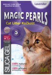 Magic żwirek silikonowy Magic Pearls o zapachu lawendy 16 L