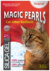 Magic żwirek dla kota Pearls XXL - 16 l.