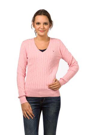 Gant pletený dámský svetr XL růžová