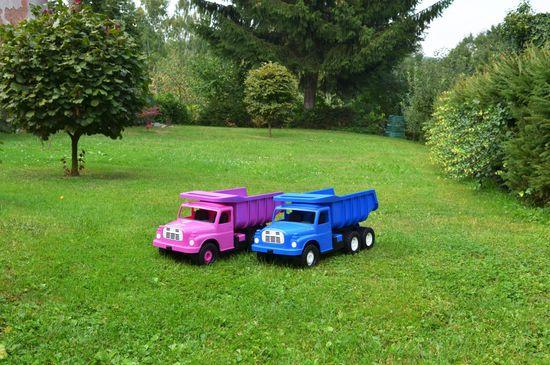 Dino Tatra Auto 148 73cm růžová