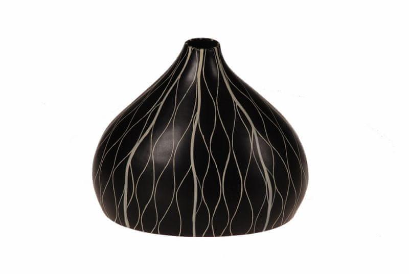 EverGreen Váza keramická Kongo2 25 cm - II. jakost