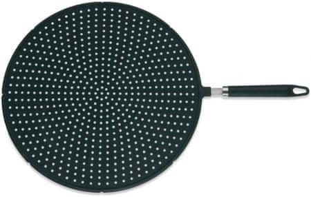 Kela zaščitno cedilo za posodo Carlina 33 cm, silikonsko