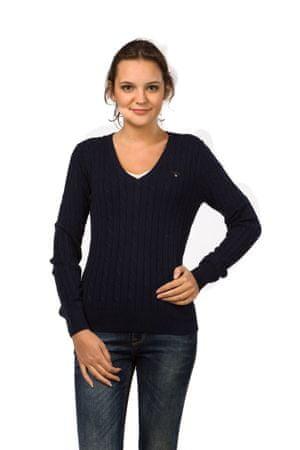 Gant pletený dámský svetr S tmavě modrá