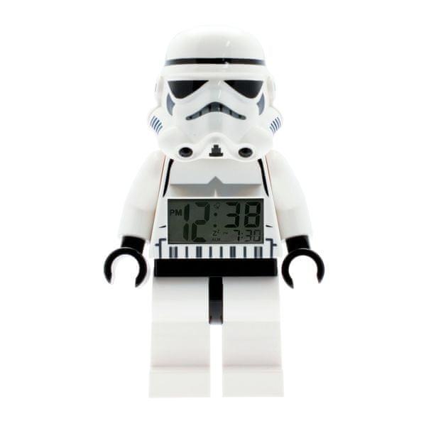 LEGO® Dětský budík Stormtrooper