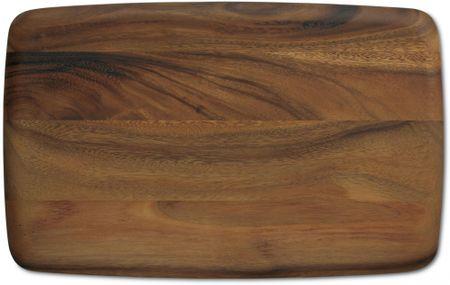 Kela kuhinjska deska za rezanje iz akacije, 43 x 27 cm