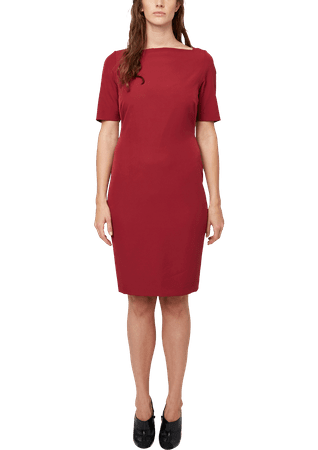 s.Oliver dámské šaty pro plnoštíhlé 52 červená