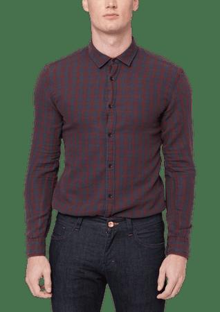 5bf741a3de4 s.Oliver pánská Extra slim fit košile S vínová - Parametry