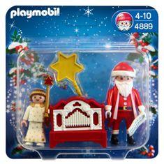 Playmobil Święty Mikołaj i Aniołek 4889