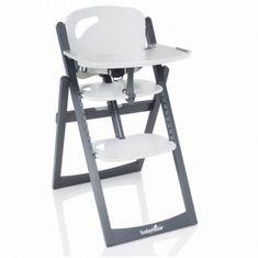 Babymoov Jedálenská stolička Light Wood Zinc/Alu