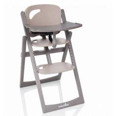 Babymoov Jedálenská stolička Light Wood Taupe