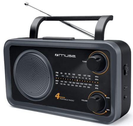 Muse M-05 DS, černá
