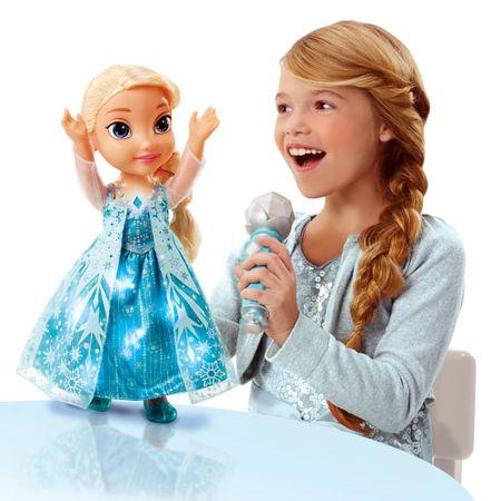 ADC Blackfire Kraina lodu - karaoke Elsa z mikrofonem