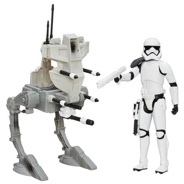 Star Wars Hrdinská figurka a vozidlo Assault Walker