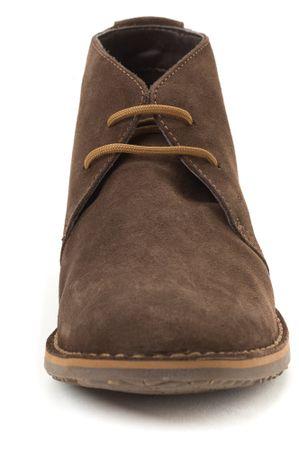 5c1336860d Geox pánská kožená kotníčková obuv 46 hnědá