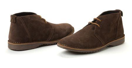 Geox pánská kožená kotníčková obuv 43 hnědá - Parametry  c5fb463c4b