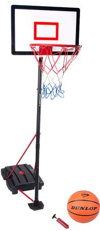 Eddy Toys Kosz do koszykówki, piłka i pompka