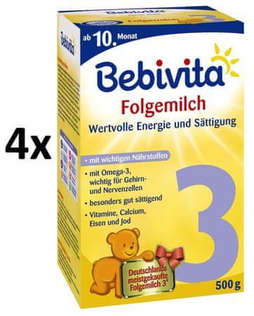 Bebivita 3 - 4 x 500 g