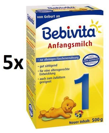 Bebivita 1 - 5 x 500g
