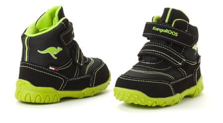f843b8f66f8 KangaROOS dětská kotníčková obuv Inscore 22 černá