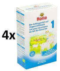 Holle Bio počáteční dětská mléčná výživa na bázi kozího mléka 1- 4 x 400g
