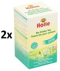 Holle Bio-detský čaj, 2 × 30 g