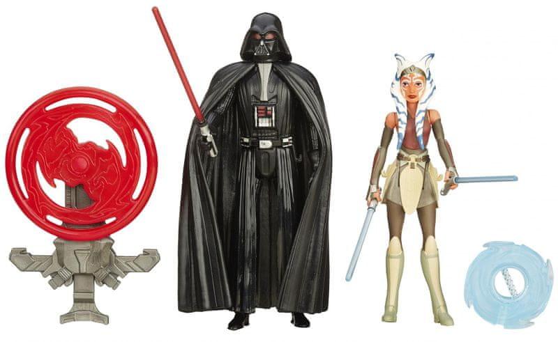 Star Wars Dvojbalení figurek Darth Vader a Ahsoka Tano