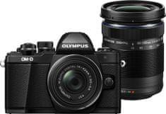 Olympus fotoaparat OM-D E-M10 Mark II + 14-42 mm EZ + 40-150 mm R