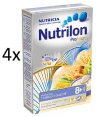 Nutrilon Mliečna kaša 7 cereálií s ovocím - 4 x 225g