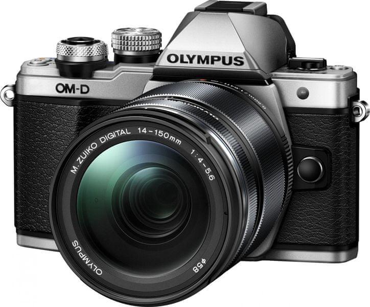 Olympus OM-D E-M10 Mark II + 14-150 mm II Silver + 2000 Kč od Olympusu zpět!