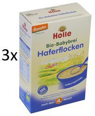 Holle Bio Kaša z ovsených vločiek - 3 x 250g