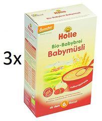 Holle Bio Babymüsli kaša - 3 x 250g