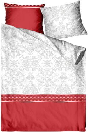 Greno posteljnina Florencia rdeča
