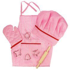 Bigjigs Toys Ružový set šéfkuchárky