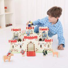 Bigjigs Toys drewniany zamek króla Artura