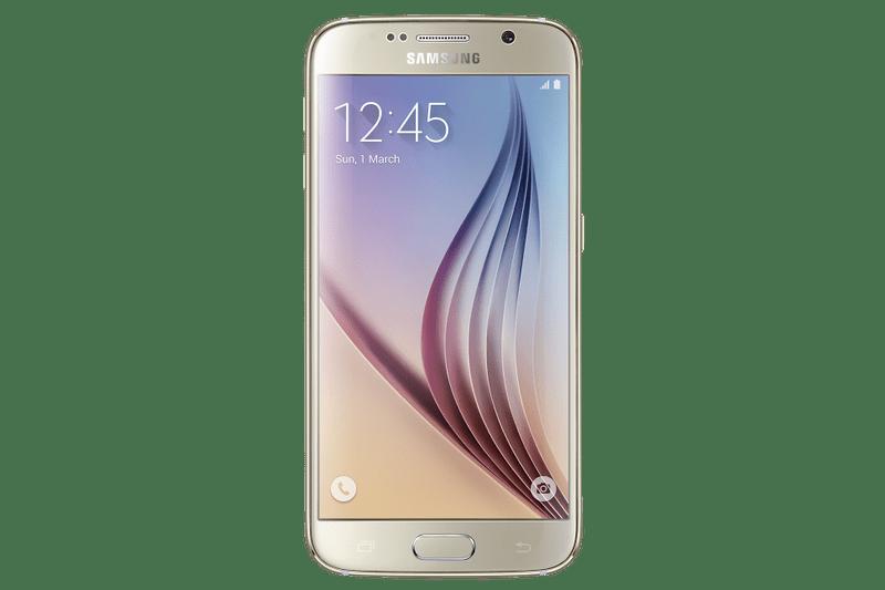 Samsung Galaxy S6, 32 GB, zlatá