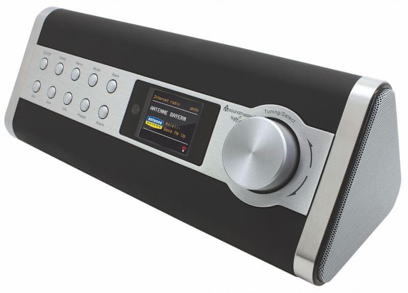 Soundmaster IR3000DAB, stříbrná
