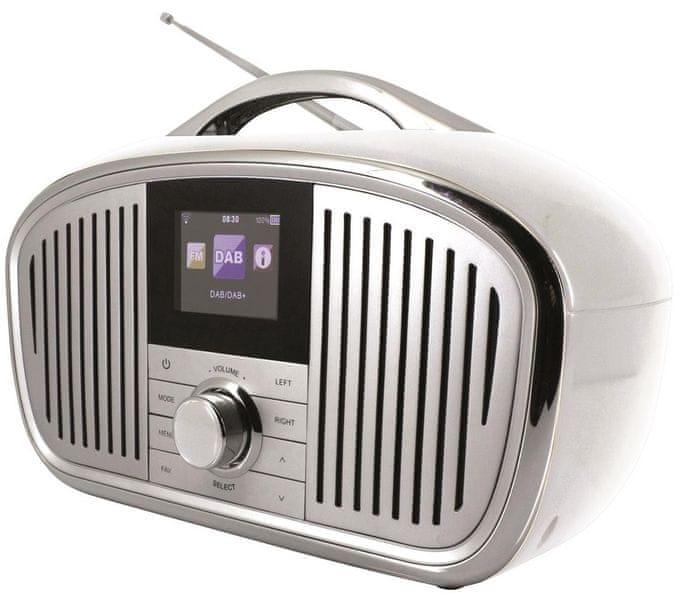 Soundmaster IR4000WE, bílá