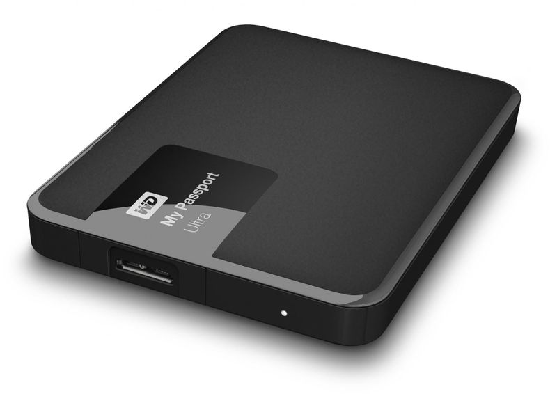 "WD My Passport Ultra 500GB / Externí / USB 3.0 / 2,5"" / Black (WDBWWM5000ABK-EESN)"