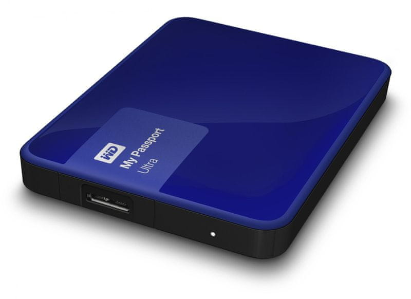 "WD My Passport Ultra 500GB / Externí / USB 3.0 / 2,5"" / Blue (WDBWWM5000ABL-EESN)"