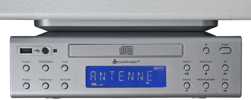 Soundmaster UR2050SI, stříbrná