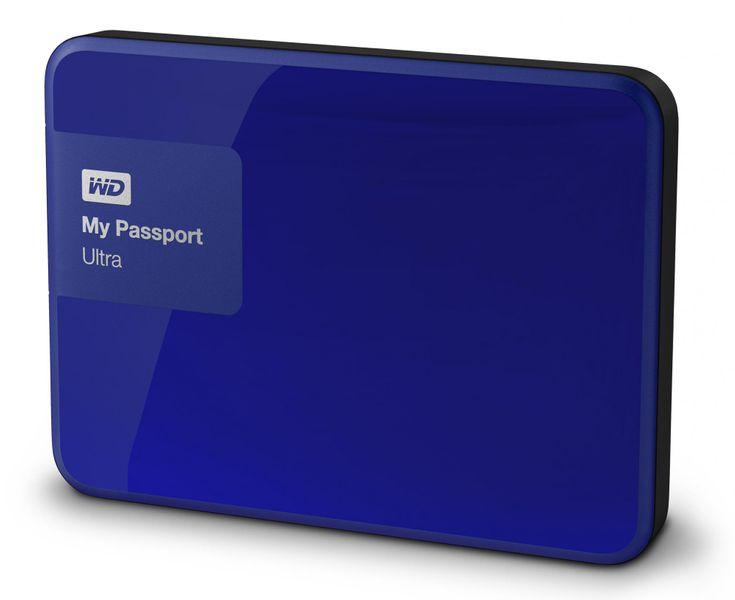"""WD My Passport Ultra 1TB / Externí / USB 3.0 / 2,5"""" / Blue (WDBGPU0010BBL-EESN) - II. jakost"""