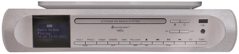 Soundmaster UR2170SI, stříbrná