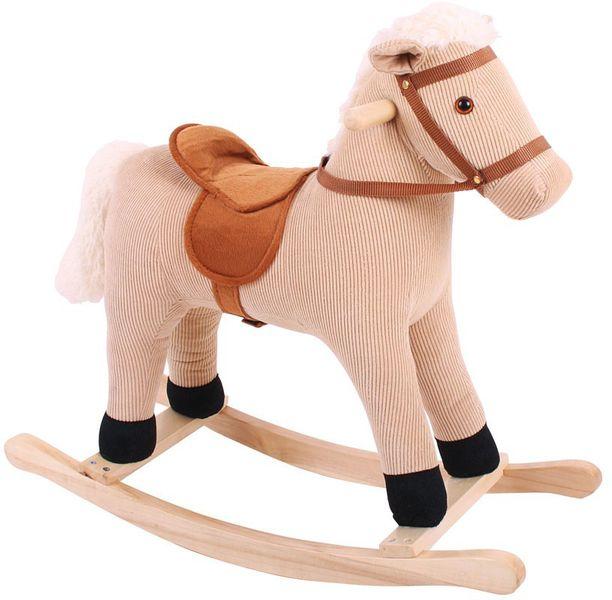 Bigjigs Toys Dřevěný houpací kůň