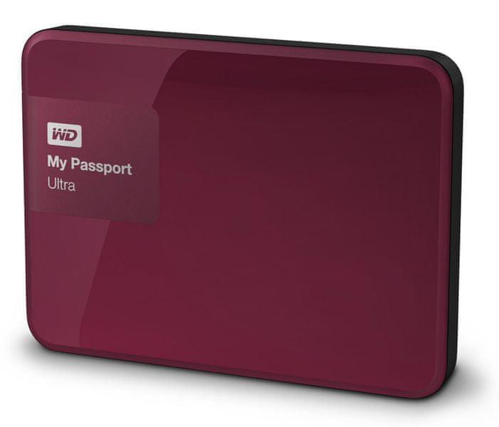 "WD My Passport Ultra 2TB / Externí / USB 3.0 / 2,5"" / Berry (WDBBKD0020BBY-EESN)"