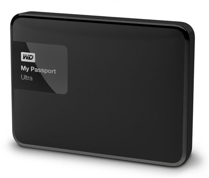 "WD My Passport Ultra 3TB / Externí / USB 3.0 / 2,5"" / Black (WDBBKD0030BBK-EESN)"