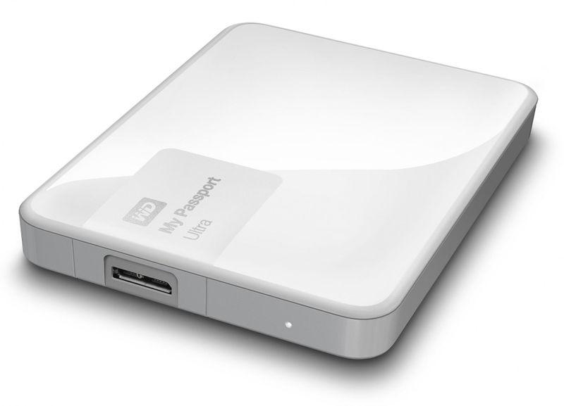 "WD My Passport Ultra 3TB / Externí / USB 3.0 / 2,5"" / White (WDBBKD0030BWT-EESN)"